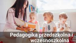 Odnośnik do Pedagogika przedszkolna i wczesnoszkolna